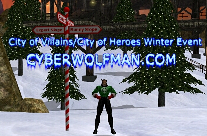 CyberWoLfman at the Winter Event