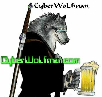 Never saw a werewolf on the Internet that likes to drink ice-cold beer from liter sized glasses?  ;-)