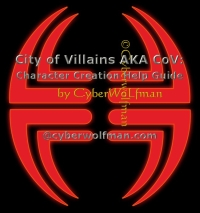 CoV AKA City of Villains Character Creation Help Guide